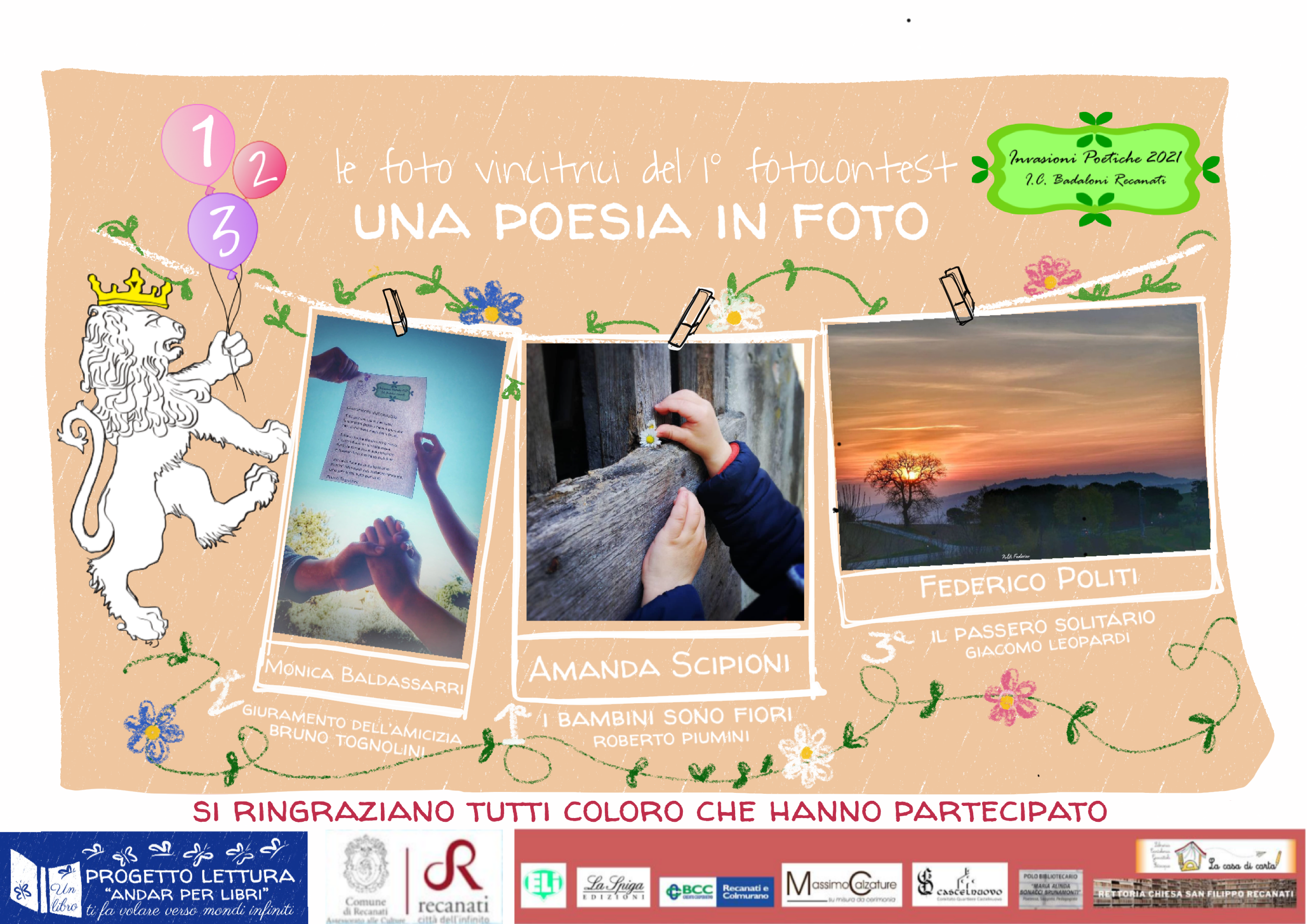 """Le foto vincitrici del contest """"UNA POESIA IN FOTO"""""""