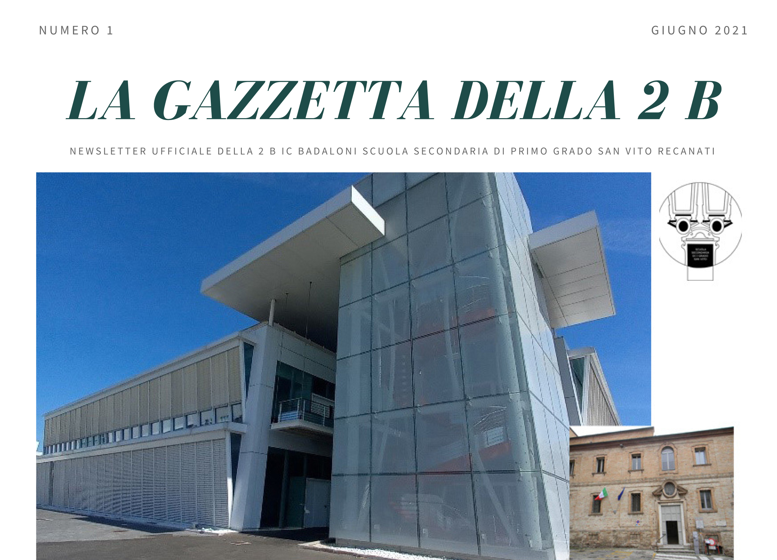 La Gazzetta della 2 B – Secondaria San Vito