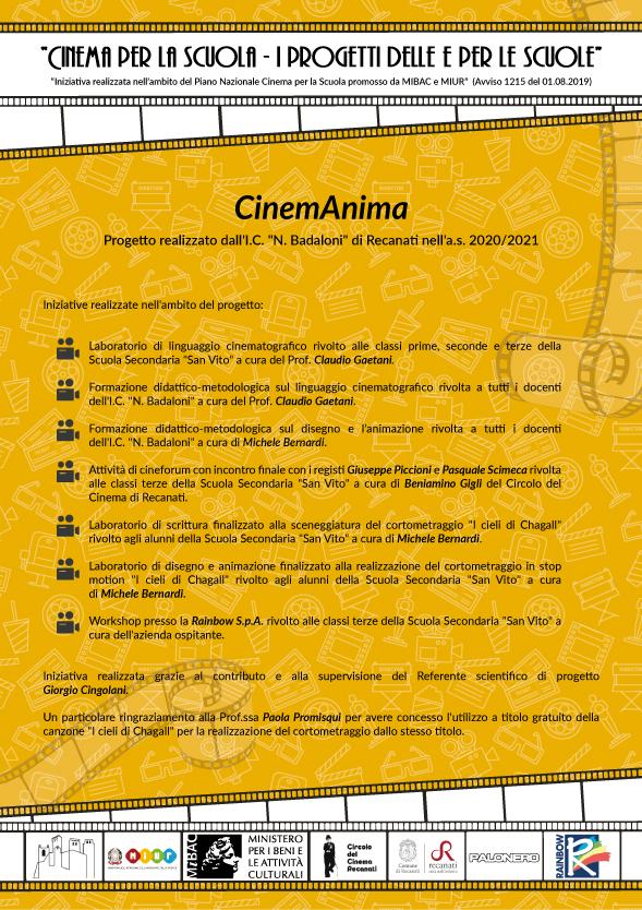 locandina CINEMANIMA